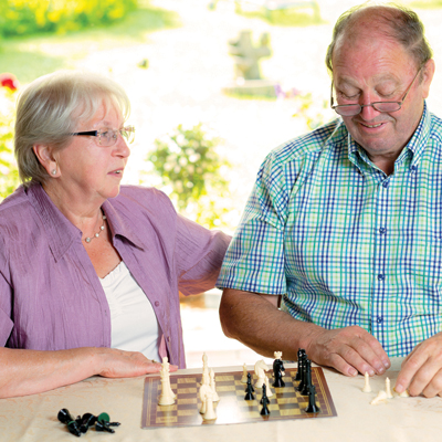 Enjoy a game of chess with a friend at Marchfield House